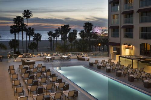 Loews Santa Monica Beach Hotel - Accommodation - Los Ángeles