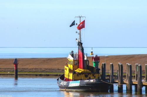 . Historic boat Langenort