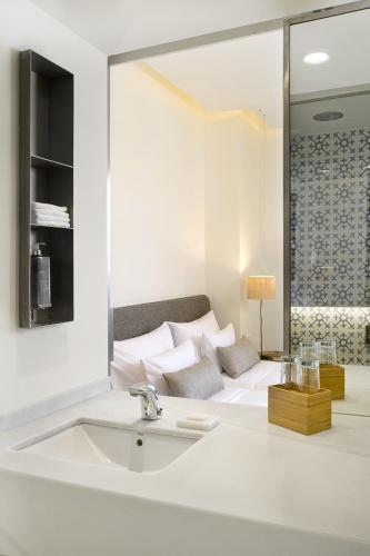 Doppelzimmer mit Meerblick Hostal Spa Empúries 22