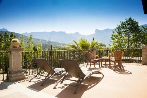 Double Room with Terrace Hotel Finca Ca N'ai - Adults Only 1