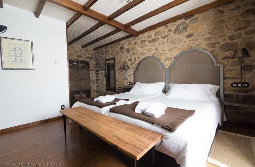 Doppel- oder Zweibettzimmer - Einzelnutzung Hotel Rustico Lugar Do Cotariño 76