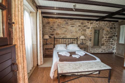 Doppel- oder Zweibettzimmer - Einzelnutzung Hotel Rustico Lugar Do Cotariño 78