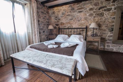 Doppel- oder Zweibettzimmer - Einzelnutzung Hotel Rustico Lugar Do Cotariño 79