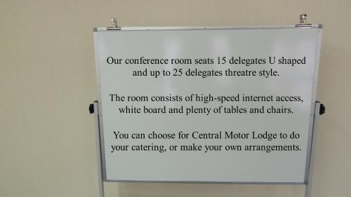 Central Motor Lodge