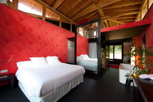 Suite Deluxe con cama extragrande Ellauri Hotel Landscape SPA - Adults Only 10