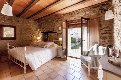 Habitación Doble con baño privado - Uso individual Hotel Mas la Ferreria 2