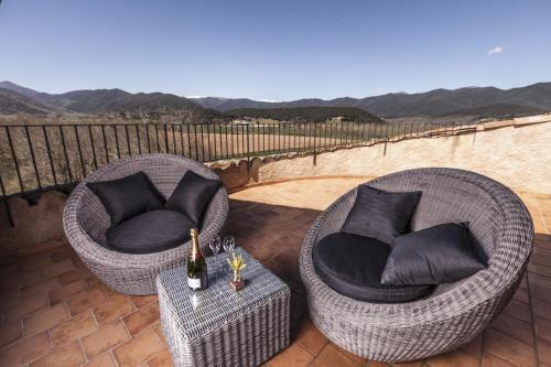 Habitación Doble Deluxe - Uso individual Hotel Mas la Ferreria 10