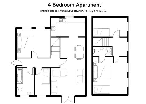 Picture of Bristol Serviced Lettings - Beaufort Court