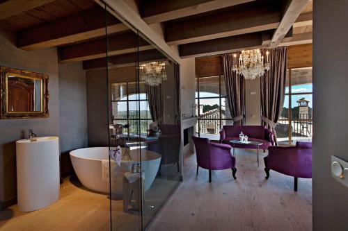 Suite mit Bergblick La Vella Farga Hotel 9