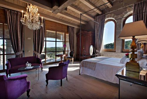 Suite mit Bergblick La Vella Farga Hotel 10