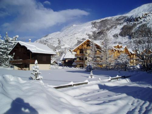 . Apartment in Chalet Chamoissiere
