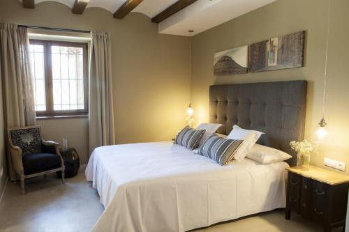Double or Twin Room Hotel Mas De Cebrian 16
