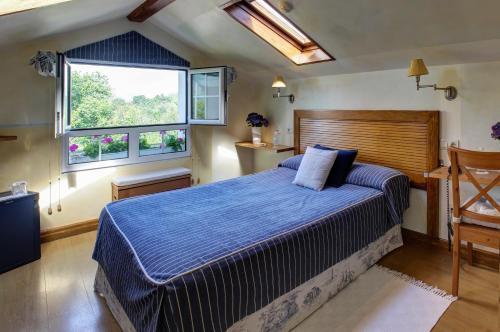 Habitación Doble con bañera de hidromasaje Hotel Mirador del Sella 1