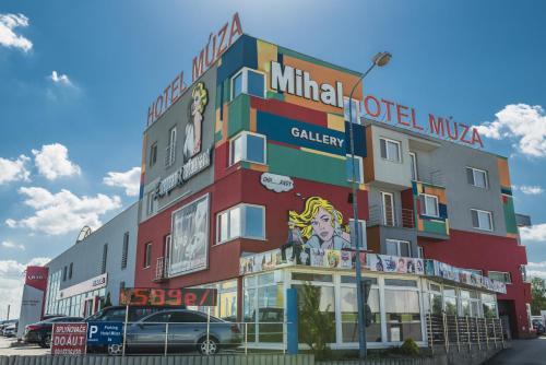 Hotel-overnachting met je hond in Hotel Muza - Košice