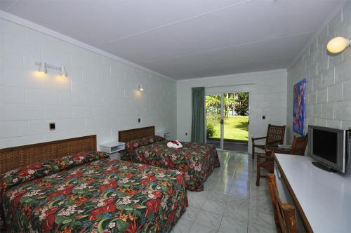 Kosrae Nautilus Resort Стандартный двухместный номер с 1 кроватью и балконом