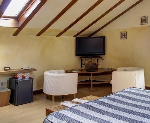 Habitación Doble Superior con bañera de hidromasaje Hotel Mirador del Sella 14