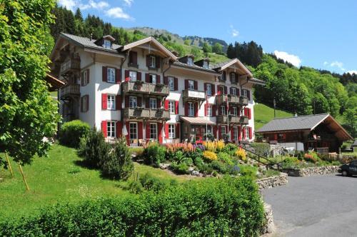 Swiss Historic Hotel du Pillon - Les Diablerets