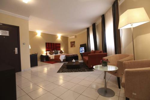 Les Acacias Hotel Djibouti 룸 사진