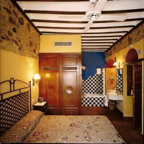 Rustic Double Room Hotel Spa La Casa del Rector 11