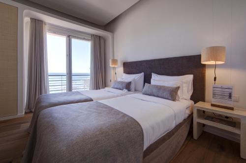 Doppelzimmer mit Meerblick und Balkon Hostal Spa Empúries 18