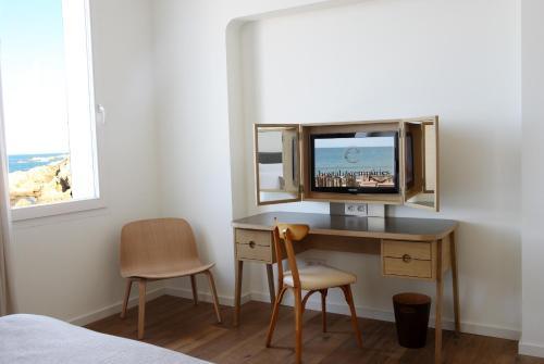 Doppelzimmer mit Meerblick Hostal Spa Empúries 30