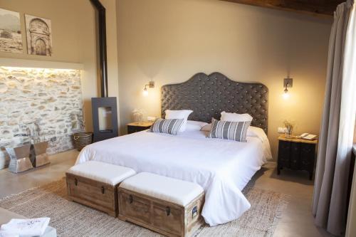 Suite Junior con terraza Hotel Mas De Cebrian 22