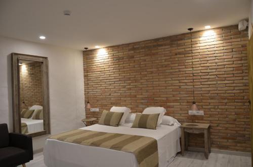 Habitación Doble Superior con terraza Hotel Galena Mas Comangau 44