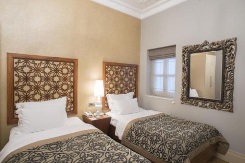 Stories Hotel Kumbaracı Улучшенный двухместный номер с 2 отдельными кроватями