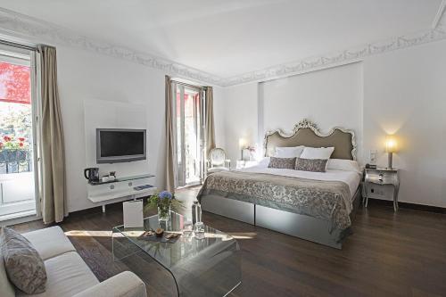Habitación Doble Deluxe con vistas - 1 o 2 camas - Uso individual Hospes Puerta de Alcalá 19