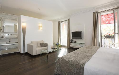 Habitación Doble Deluxe con vistas - 1 o 2 camas - Uso individual Hospes Puerta de Alcalá 22