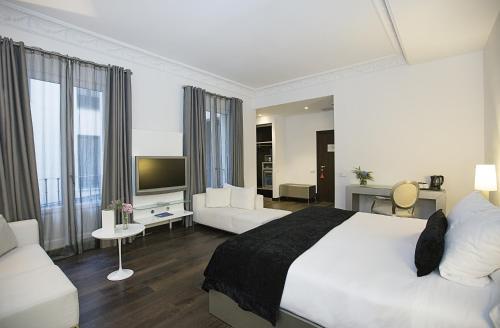 Deluxe Doppel-/Zweibettzimmer - Einzelnutzung Hospes Puerta de Alcalá 6