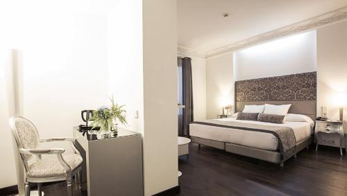 Deluxe Doppel-/Zweibettzimmer - Einzelnutzung Hospes Puerta de Alcalá 14