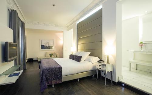 Deluxe Doppel-/Zweibettzimmer - Einzelnutzung Hospes Puerta de Alcalá 15