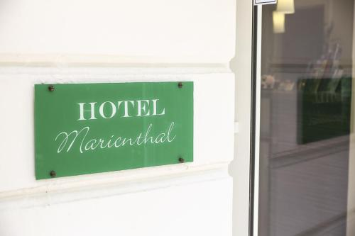 Hotel Marienthal Garni photo 22