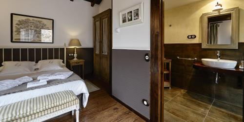 Doppel- oder Zweibettzimmer - Einzelnutzung Hotel Rustico Lugar Do Cotariño 64