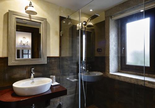 Doppel- oder Zweibettzimmer - Einzelnutzung Hotel Rustico Lugar Do Cotariño 70