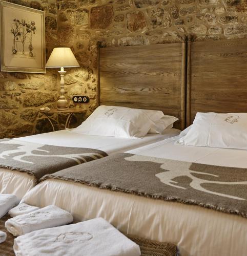 Doppel- oder Zweibettzimmer - Einzelnutzung Hotel Rustico Lugar Do Cotariño 65