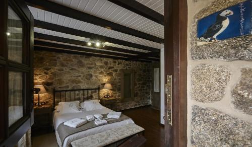 Doppel- oder Zweibettzimmer - Einzelnutzung Hotel Rustico Lugar Do Cotariño 80