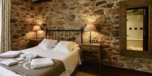 Doppel- oder Zweibettzimmer - Einzelnutzung Hotel Rustico Lugar Do Cotariño 63