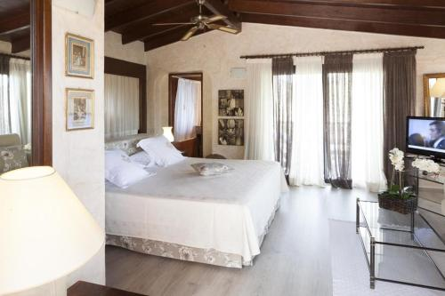 Suite with Sea View Hotel Rural Cas Pla 13