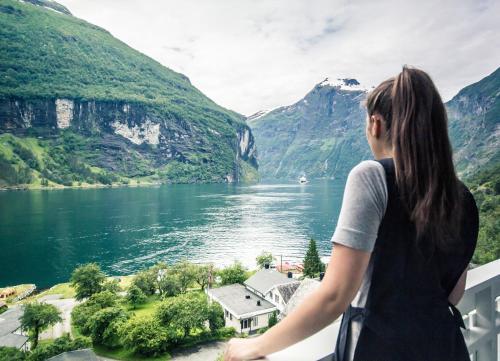 Grande Fjord Hotel In Geiranger Norway 800 Reviews