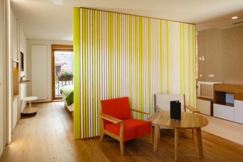 Deluxe Suite mit 1 Schlafzimmer Echaurren Hotel Gastronómico 4