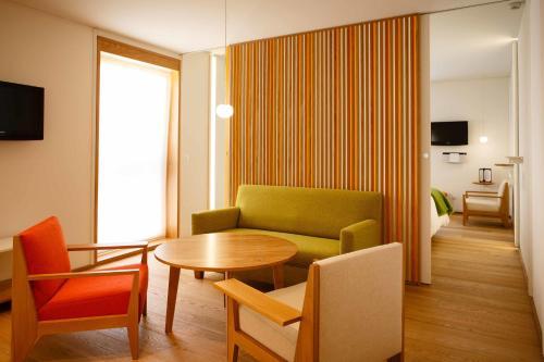 Superior Suite mit Gartenblick  - Einzelnutzung Echaurren Hotel Gastronómico 3