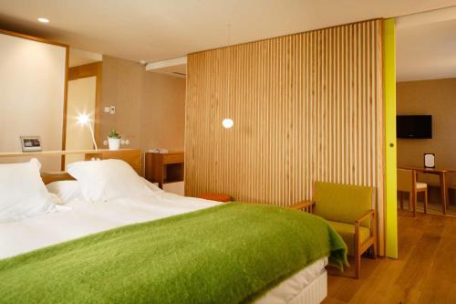 Deluxe Suite mit 1 Schlafzimmer Echaurren Hotel Gastronómico 2