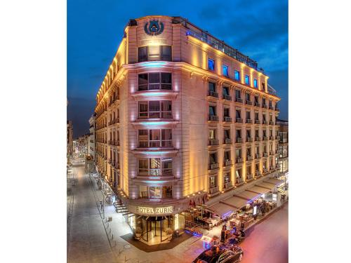 Istanbul Hotel Zurich Istanbul adres