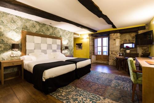 Deluxe Double or Twin Room with Spa Bath Pazo da Pena Manzaneda 3
