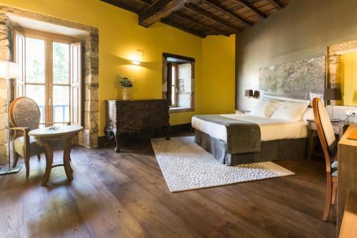 Habitación Doble Deluxe - 1 o 2 camas Pazo da Pena Manzaneda 2
