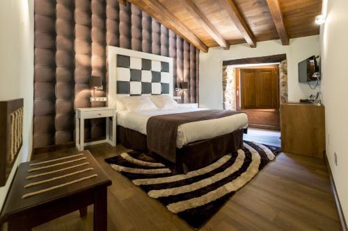 Habitación Doble - 1 o 2 camas Pazo da Pena Manzaneda 12