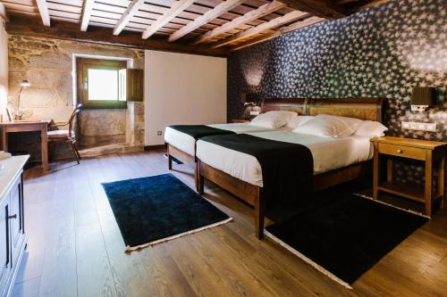 Habitación Doble - 1 o 2 camas Pazo da Pena Manzaneda 1