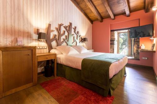Habitación Doble - 1 o 2 camas Pazo da Pena Manzaneda 15